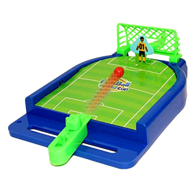 Mini Football Tabletop Arcade Game - Miniature Desktop Soccer Novelty Game - Power Shot Football Skills Board Game for Ages 5 and Up - Game Room | Birthday Party | BBQ | Holiday Gift