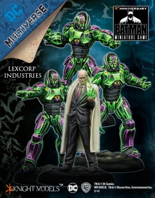 Batman Mini Game - Lexcorp Industries