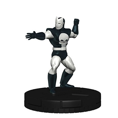 Marvel Heroclix 15th Anniversary What If. #023 Iron Punisher Figure complete with Card