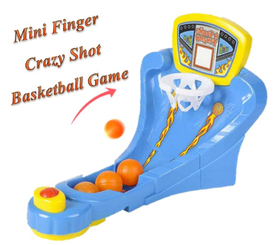Play Kreative Crazy Shot Finger Basketball Shooting Game – Flick Desktop Basketball Game for Office