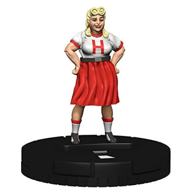 DC Comics Heroclix Wonder Woman Gravity Feed #011 Etta Candy Complete with Card