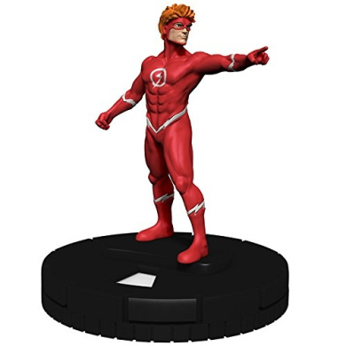 DC Comics Heroclix Wonder Woman Gravity Feed #008 The Flash Complete with Card