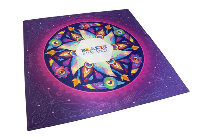 Beasts of Balance - The Playmat - Official Stacking Game Accessory for Beasts of Balance (BOB-MAT-WW-1/GEN)