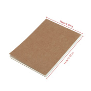Usdepant 60Sheets Vintage Retro Blank Sketch Book for Drawing