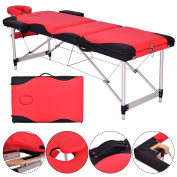 New 180cm L Portable Massage Table Aluminium Facial SPA Bed Tattoo w/Free Carry Case