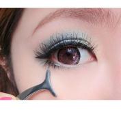 VIASA False Eyelashes Aid Stainless Steel Clip Forceps Beauty Tools