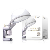 Project E Beauty Personal 2 in 1 Facial + Hair Steamer with O90mlone Steamer Device Home or Salon Use
