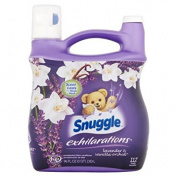 Snuggle Exhilarations Liquid Fabric Softener, White Lavender & Sandalwood Twist, 2840ml