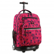 J World New York Sundance Laptop Rolling Fashion Backpack