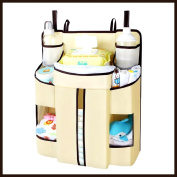 Hiltow Baby Nappy Organiser Changing Table Hanging Organisation Nappy Caddy Storage for Nursery Essentials
