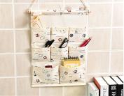 ModaKeusu 8 Pocket Hanging Wall Organiser Multi Storage Bag