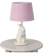 Living Textiles Bunny Lamp Base and Shade, Multi