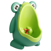 Frog Shape Toilet Training for Children Baby Boys Funny Lovely Green Pee Trainer Urine Potty Urinal
