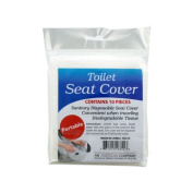 96 packs of 10 disposable toilet seat covers