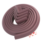 YunNasi Baby Edge Protectors and Furniture Bumpers Anti-collision Cushion Set 5m Edge and 4 Corner Guards