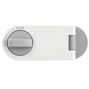Artec360 Baby Proof Cabinets Lock without Drilling Appliance Safety Latches, Rotate to Unlock 4.2x 1.15cm x 2.2cm