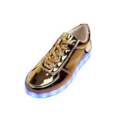 Pulison(TM) Cool Shoes Summer LED Shoes USB Charging Light Up Glow Shoes Fashion Sneakers Flashing LuminousShoes