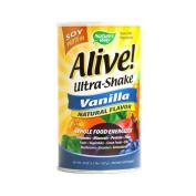 Nature's Way Alive! Soy Protein Ultra-Shake Vanilla - 620ml