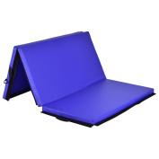 Giantex 1.8m x 1.2m Tri-Fold Gymnastics Mat Thick Folding Panel For Gym Fitness Exercise