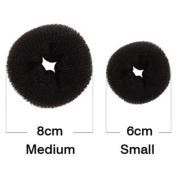 Magic Hair Styling Clip Accessory Maker Tool Pads Foam Sponge Hairpins Bun Donut