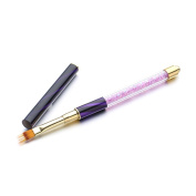 1 Pc UV Gel Acrylic Painting Drawing Pen Nail Art Brush DIY Makeup Beauty Tool
