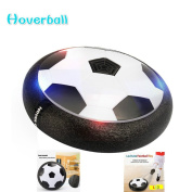 Children Light-Up Air Power Soccer Disc Football Toys Indoor Outdoor Disc Hover Ball Game