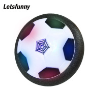 Letsfunny Air Power Soccer Disc Hover Ball, LED Lights Toys for Kids Indoor & Outdoor Playing