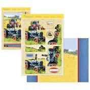 Hunkydory Crafts Rustic Charm Farmer's Field Card Kit CHARM904
