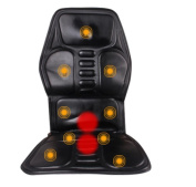 AMYMGLL Massage Cushion Car Massager Intelligent Multifunctional Car Massage Cushion Top Leather 9 Pattern Adjust Relief Sour Family