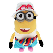 "Plush of MINION JERRY TOURIST Freedonian XXL GIANT 65cm 26"" Soft Toy from DESPICABLE ME 3 Original and Official MINIONS"