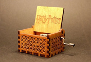 Engraved Wooden Music Box - Harry Potter Theme