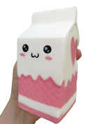 LaliLaco Squishy slow rising Milk Box soft (height 11.5cm) Faint Sweet Scent