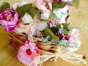Flowers Baby Girl Grow Hamper Gift Set - Handcrafted by The Gift Box