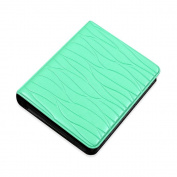 Zhi Jin Mini 64 Pockets Photo Album for Fujifilm Instax Polaroid Size Leaf Picture Case Storage Book Gift, Mint Green