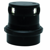Aqua Signal Masthead LED Navigation Light with Black Housing