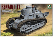 Takom 1/16 French Light Tank Renault FT-17 3 in 1 No. 1004