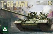 Takom 1:35 Russian Medium Tank T-55 AMV Plastic Model Kit #2042