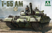 Takom 1:35 Russian Medium Tank T-55 AM Plastic Model Kit #2041