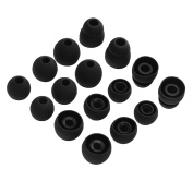 Sunmns Silicone Eartips Earbuds Eargels Ear Tips Gels Bud for LG Tone Pro HBS-750 770 800 810 900 910 Headset, 8 Pairs