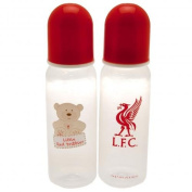 Liverpool F.C. 2pk Feeding Bottles Official Merchandise