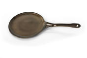 """AUS-ION Crepe & Griddle Pan, 9.5"""" (24cm), 100% Made in Sydney, 4mm Australian Iron, Professional Grade Cookware"""