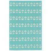 Liora Manne Capri Hand-Tufted Blue Indoor/Outdoor Area Rug