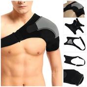 JahyShow Adjustable Single Shoulder Brace Lightweight Gym Sports Therapy Neoprene Shoulder Support Strap Wrap