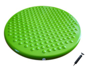 Jr. Inflatable Seat Cushion with Pump, 31cm/12in Diameter for Kids, Green