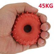 New 45KG Rubber Ring Grip Hand Gripper Device Strength Red