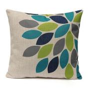 Pillow Cases ,IEason Clearance! Home Decor Linen Printed Waist Throw Pillow Case Sofa Car Cushion Square