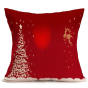 Pillow Cases ,IEason Clearance! Christmas Sofa Bed Home Decor Pillow Case Cushion Cover