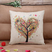 Pillow Cases ,IEason Clearance! Linen Square Throw Flax Pillow Case Decorative Cushion Pillow Cover