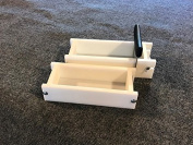 Lot of 1 HDPE Soap Loaf Making Mould and Single Slot Soap Cutter 0.9-1.4kg ea mould