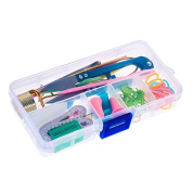 Knitting Needles Knitting Accessories - 1SET Home Knitting Accessories DIY Knitting Tools Set Crochet Hook Stitch Weave Accessories Supplied With Case Box Yarn Knit Kit - Crochet Hooks